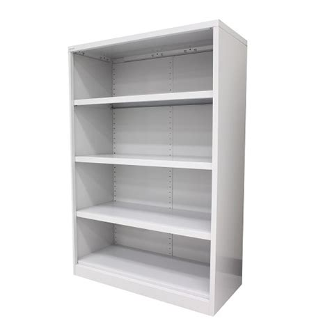 steelco metal open bookcase shelving  office furniture
