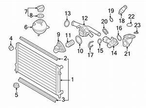 Volkswagen Cc Engine Coolant Thermostat Housing