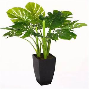 Pot Pour Plante : plante verte artificielle 77 cm avec pot achat vente fleur artificielle cdiscount ~ Teatrodelosmanantiales.com Idées de Décoration