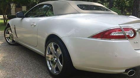 purchase   jaguar xk convertible  door