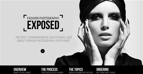 elegant black  white web design showcase creative