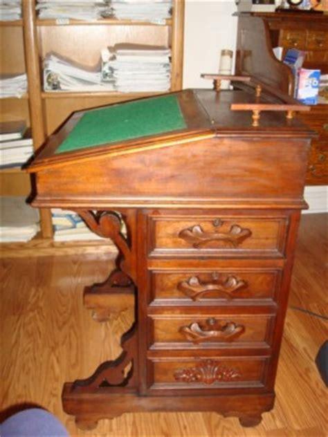 Antique Ship Captain's Desk  Antique Price Guide Details