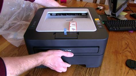 brother hl  laser printer unboxing  review
