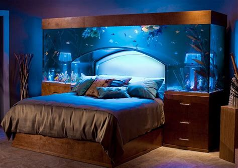 tufted headboard great ideas of fish tank bed for your glamorous bedroom