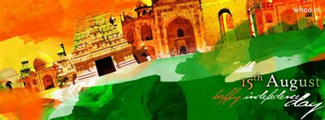 august independence day painting facebook cover