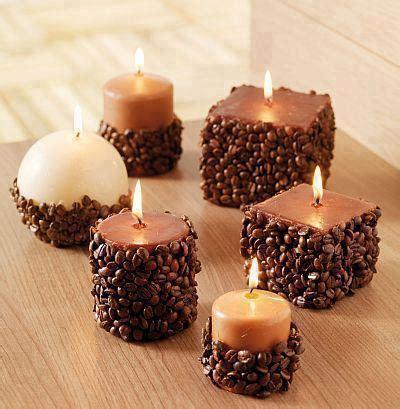 decorare le candele candele di natale decorate con chicchi di caff 232 ultime