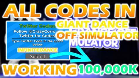 code  roblox giant dance  simulator  cheating