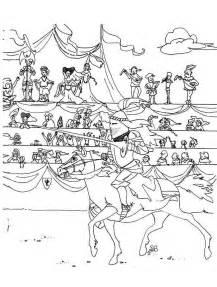 dessins 224 colorier chevalier coloriages pour enfants