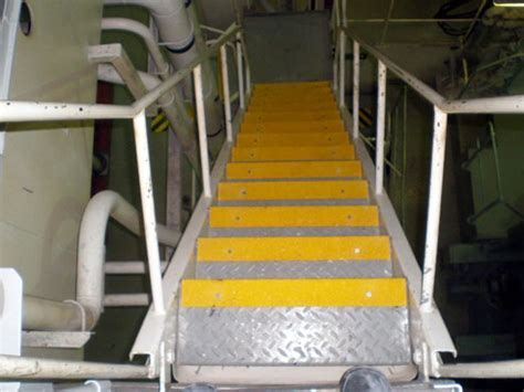 Fibreglass Stair Nosings and Stair Edge Strips, Floor N