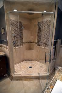 Exotic Rugs For Sale by Stone Walk In Shower Mediterranean Bathroom