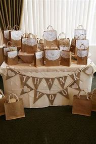 Rustic Bridal Shower Table Decoration Ideas