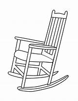 Chair Coloring Designlooter 792px 41kb sketch template