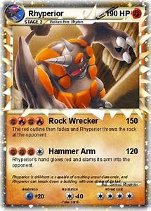 Rhyperior Pokemon Card Images | Pokemon Images