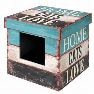 Maison Pour Chat Extérieur : maison box love maison pour chat europet wanimo ~ Premium-room.com Idées de Décoration