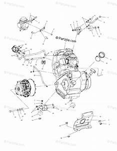 Polaris Atv 2000 Oem Parts Diagram For Engine Mounting