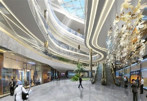 New Mall In Tehran With Nature Inspired Interior  Design Home