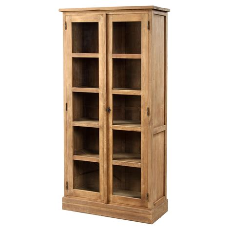 rustic storage cabinet with doors rustic wood tall storage cabinet with double glass doors