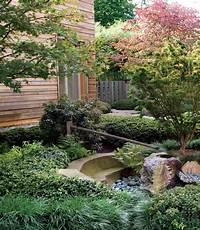 lovely gravel garden design Lovely Small Japanese Garden Design With Creek And Stone ...
