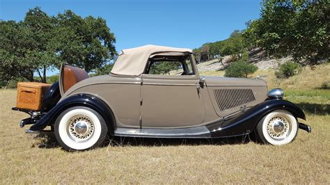 1933 Ford Cabriolet Street Rod For Sale