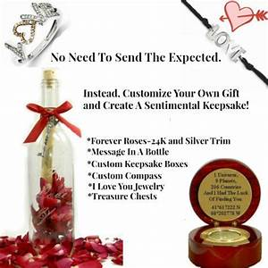 sentimental giftsvalentines day giftsanniversary gifts With love letter in a bottle romantic personalized gifts