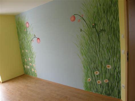 Wandgestaltung Kinderzimmer Wiese by Hobbyraum W 228 Nde Alte Wohnung Zimmerschau