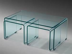 Tv Glastisch Mit Rollen : glastisch couchtisch beistelltisch 3er set gebogen esg glas ~ Bigdaddyawards.com Haus und Dekorationen