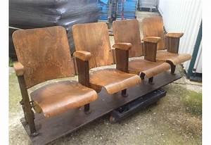Fauteuil En Bois : fauteuils de cinema en bois chez bravo ~ Teatrodelosmanantiales.com Idées de Décoration