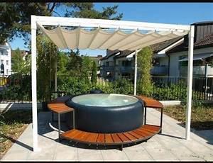 whirlpool softub 300 sonstiges fur den garten balkon With whirlpool garten mit bodenaufbau balkon holz