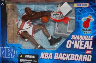 mcfarlane miami heat basketball  pack shaquille oneal