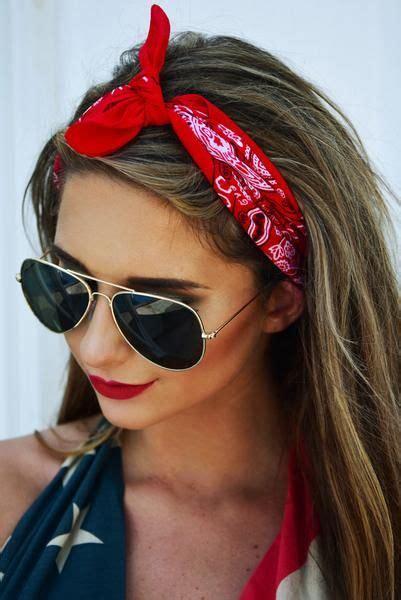 biker chick style images  pinterest bandana