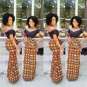 Subira Wahure Official African Couture Blog LONG DRESSES...AFRICAN STYLE