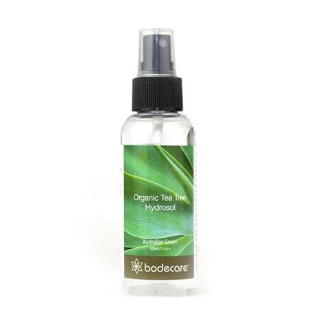 bodecare organic tea tree hydrosol spray 100ml biome