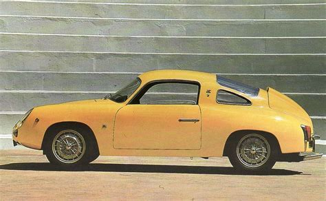 Fiat Abarth Coupe by Fab Wheels Digest F W D 1958 Fiat Abarth 750 Record