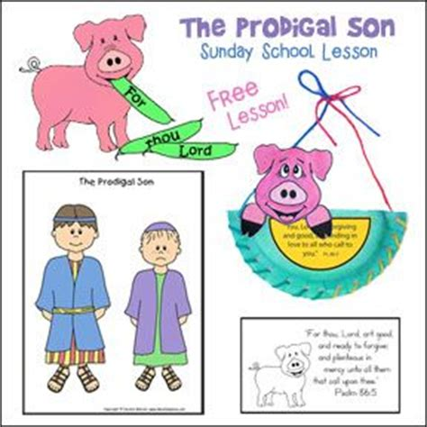 free prodigal bible lesson for children from www 907   a8e05117b455b1a2f6671844bb448a77