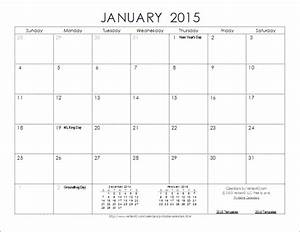 free 2015 calendar template new calendar template site With free downloadable 2015 calendar template