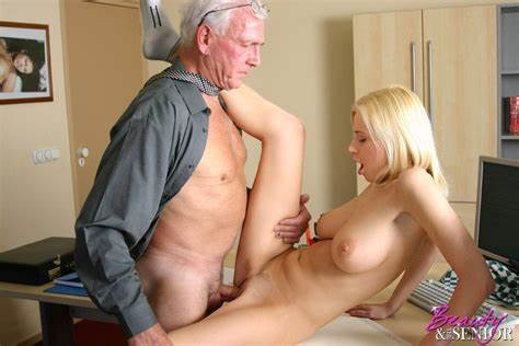 Slender Old Blonde Enjoys Interracial Getting