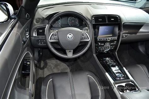 interior    jaguar xkr  convertible torque news