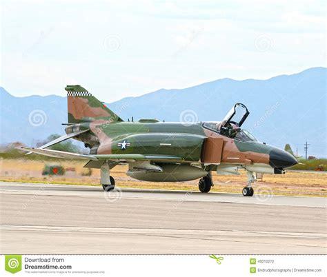 Lockheed Martin F-4 Phantom Ii Fighter Jet Usaf Stock