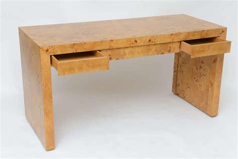 burl wood desk  stdibs