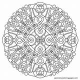 Coloring Meditation Geometric Mandala Adult Printable Geometry Adults Mandalas Imgur Colouring Square Abstract Sheets Pattern Patterns Stencils Infinite Dance Age sketch template