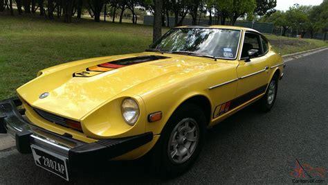 1977 Datsun 280z by 1977 Datsun 280z Zap Edition Yellow Original 80k