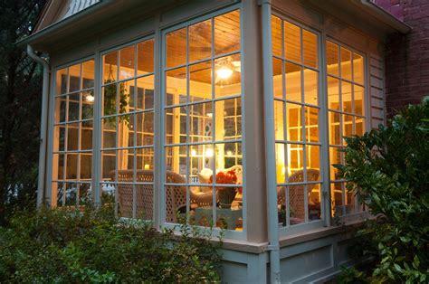 traditional sunroom additions selecting windows doors