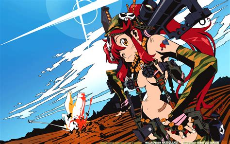 High Def Anime Wallpapers - gurren lagann high definition anime wallpaper 02