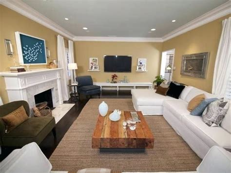Furniture Setup For Rectangular Living Room Furniture Placement With Corner Fireplace Small