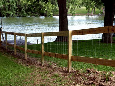 Boerne Wooden Rail Fences