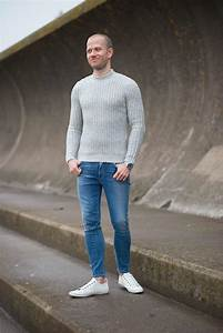 Autumn Grey Sweater At The Beach | Your Average Guy