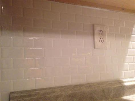 peel and stick glass subway tile backsplash inspiration why overlap peel and stick smart tiles