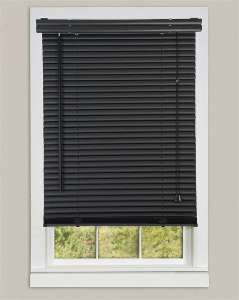 Mini Blinds by Window Blinds Mini Blinds 1 Quot Slats Black Venetian Vinyl