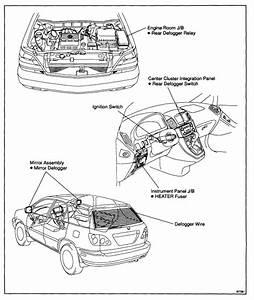 2002 Rx300 Drivers Side Defogger - Clublexus