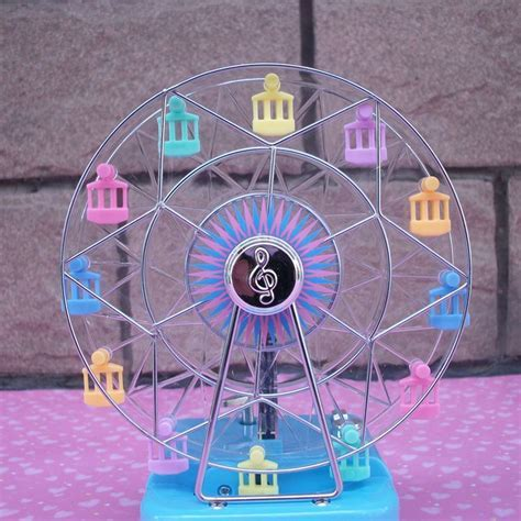 Happiness Ferris Wheel Shape Music Box Kids Toy Birthday